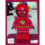 Souvenir Aplique Personalizado Madera 10cm Héroe Lego Flash