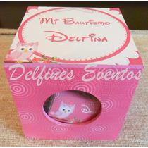 Cajas Con Chocolatines Personalizados,cumples, Bautismo.