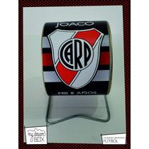 Alcancía Giratoria Souvenir Personalizada Futbol River Plate