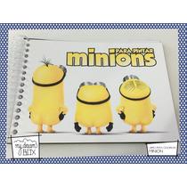 Souvenir Evento Libro Colorear Personalizado Minion Gru