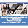 Portada Facebook Cabecera Diseños Editables Profesional