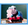 Servilletero Evento Personaliza Madera Thomas El Tren Disney