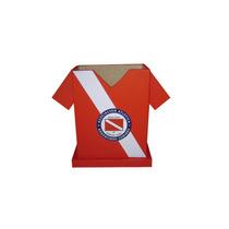 Portalápiz De Fibrofácil. Camiseta De Fútbol. Lapicero.