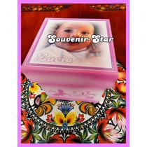 Souvenir 10 Cajas Con Foto 8x8x8 Cm Personalizadas