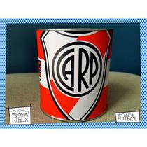 Souvenir Personalizado Alcancía Lata Evento Futbol Arg River