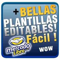 Plantillas Mercado Libre Publicidad Aumenta Tus Ventas!!