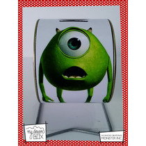 Alcancía Giratoria Souvenir Personalizada Disney Monter Inc