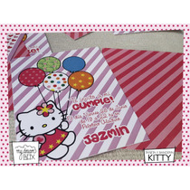 Tarjetas Invitación Evento Cumple Personalizadas Hello Kitty