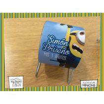 Alcancía Giratoria Souvenir Personalizada Minion Gru Villano
