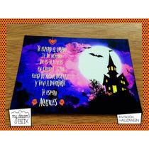 Tarjetas Invitación Evento Cumple Personalizadas Halloween