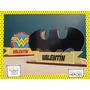 Servilletero Evento Personaliza Madera Heroes Batman Guason