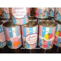 Souvenir Peppa Pig Lapiceros Metálicos Personalizados X 10 U