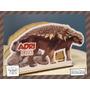 Servilletero Evento Personalizado Madera Dinosaurios Ankylos