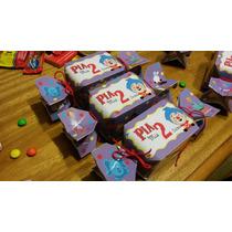 Cajitas En Forma De Caramelo Para Souvenirs