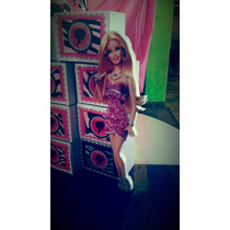 Cumpleaños Caja Golosinera Peppa; Frozen, Barbie