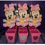 Centros De Mesa Minnie Bebe-princesas-vengadores Y Mas!!