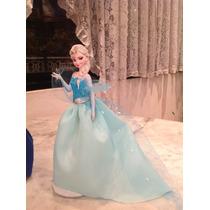 Princesa Elsa De Frozen Centro De Mesa O Souvenirs