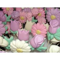 Chupetines De Chocolate Flores! Vaquita San Antonio & Mas