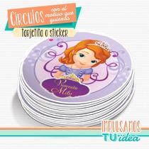 Princesita Sofía - Círculo Para Imprimir