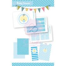 Kit De Golosinas Para Imprimir En Casa! Baby Shower Nene