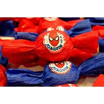 Golosinas Personalizadas Hombre Araña! Candy Bar Spiderman