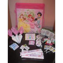 Princesas - Candy Bar Premium Completo Para 20 Niños