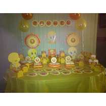Tweety - Candy Bar Premium Super Completo 20 Niños