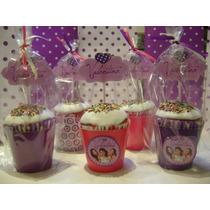 Mini Cupcake Personalizado Para Cumples X 10 Unidades
