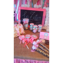 Candy Bar Mesa Dulce Golosinas Souvenirs Disney Shabby Chic