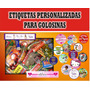 Etiquetas Personalizadas Para Golosinas - Entrega Rapida