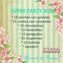 Candy Bar Super Party Box Cumples 15 Chicos