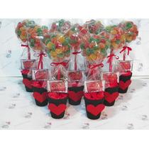 Topiarios/arbolitos De Golosinas. Souvenirs-centros De Mesa