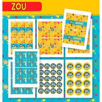 Kit Cebrita Zou! Para Imprimir En Casa!