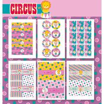 Kit Circo! Para Imprimir - Texto Editable!!