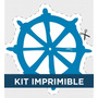 Kit Imprimible Marinero Cumple Invitacion Deco