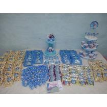 Candy Bar Golosinas Personalizada 20chicos Frozen Minnie Zou