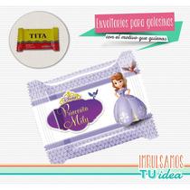 Princesita Sofía - Envoltorio Tita Para Imprimir