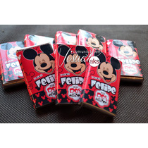 Candy Bar Mickey / Minnie Golosinas Personalizadas