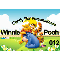 Imprimibles Personalizados Candy Bar - Winnie Pooh - 012