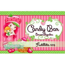 Imprimibles Personalizados Candy Bar -frutillita- 009