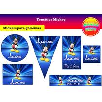 Stickers Personalizados Para Golosinas