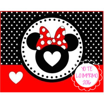 Kit Imprimible Candy Bar Minnie Mouse Golosinas Ytli2016