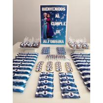 Golosinas Personalizadas Candy Bar Frozen Elsa Único Z Norte