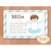 Candy Bar: Kit Imprimible Bautismo Nene - Golosinas Y Deco