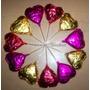10 Chupetines En Forma De Corazón De Chocolate! Sin T.a.c.c.