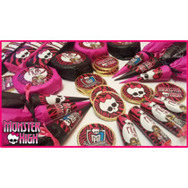 Candy Bar Monster High Golosinas Personalizadas Calidad