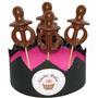 10 Chupetines De Chocolate Chupetes Baby Shower Bautismos