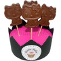 10 Chupetines De Chocolate Hello Kitty Ideal Cumples Infanti