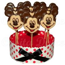 Chupetines De Chocolate Mickey Mouse Colores Rasgos Delinead