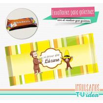 Jorge El Curioso - Envoltorio Rodhesia Para Imprimir